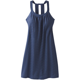 Prana Cantine Dress Dame blue anchor sea spray
